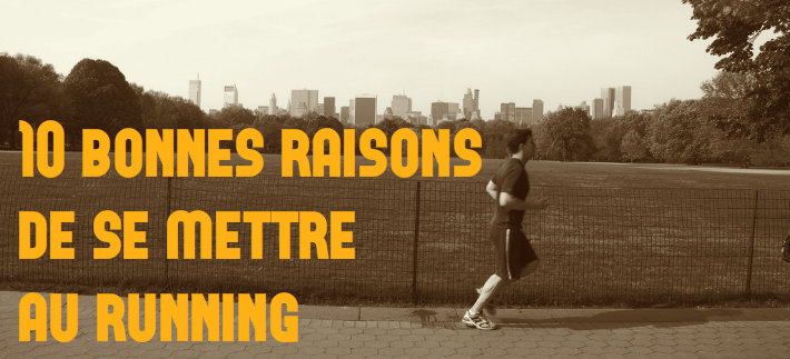 10 bonnes raisons de se mettre au running