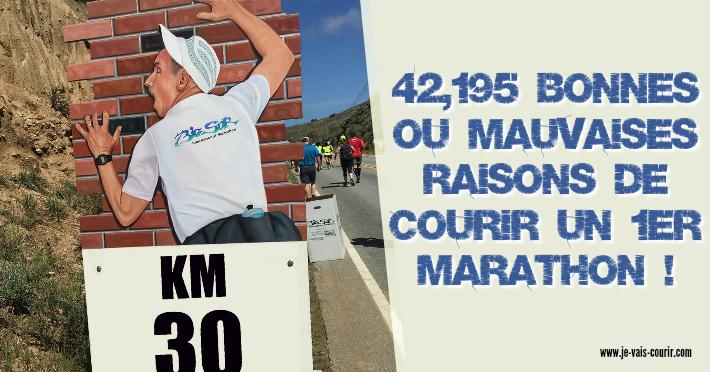 42 bonnes raisons de courir ou pas un premier marathon