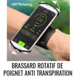 Brassard poignet rotatif