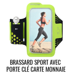 Brassard running anti-sueur