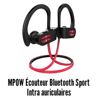 Mpow Écouteur Bluetooth Sport, Flame IPX7