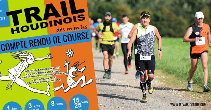 Compte rendu Trail des Mimiles 2018 course nature à Houdain