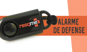 Alarme défense agression running