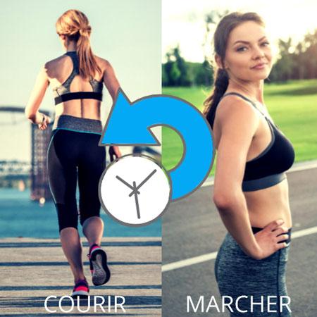 Alterner course et marche en running