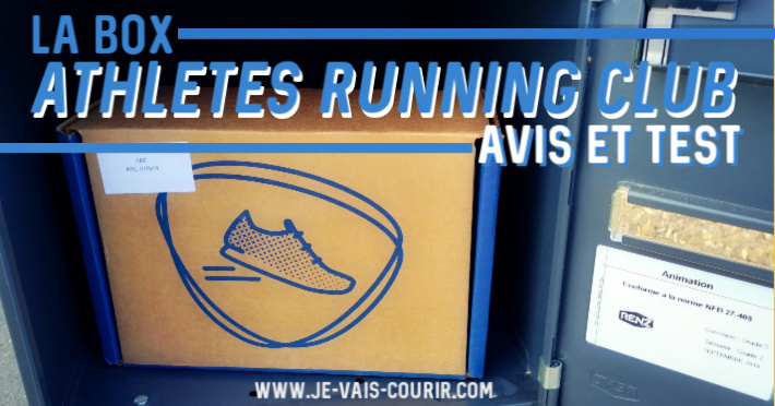 Athletes Running Club - Test avis de la box course à pied par abonnement