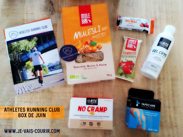 test et avis box Athletes Running Club