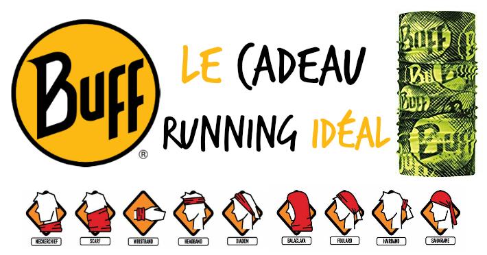 Tour de cou Buff le cadeau idéal running trail