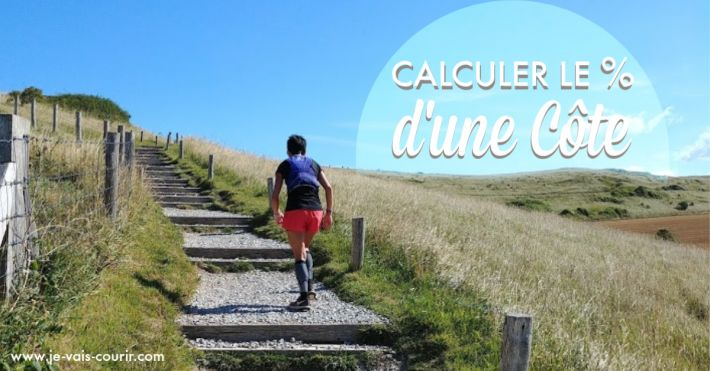 Calcul du pourcentage d une côte en course à pied pour entrainement