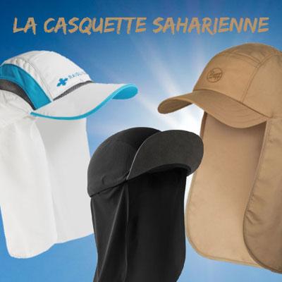 Casquette Saharienne running
