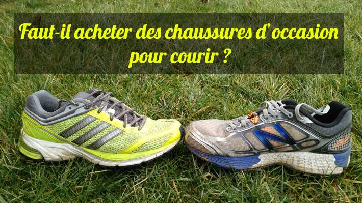 Faut-il acheter des chaussures de sport d'occasion pour le running?