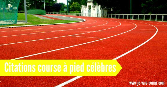 Citations course à pied célèbres et motivantes
