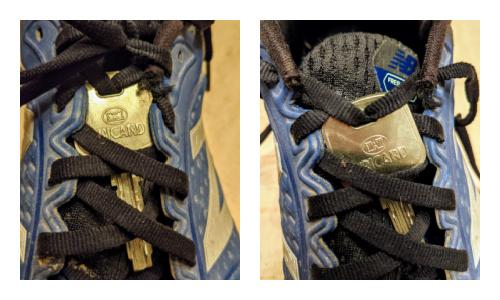 Comment accrocher sa clé aux lacets de ses chaussures pour courir