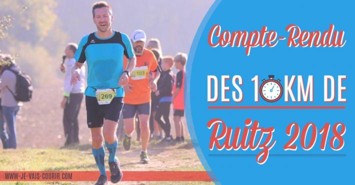 Compte Rendu de course les 10km de Ruitz 2018