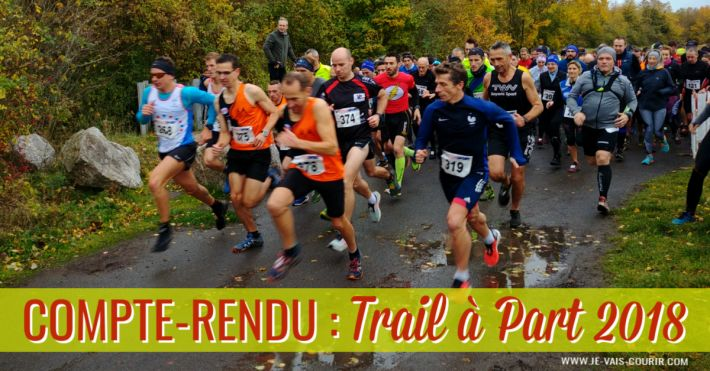 Récit de course le Trail à Part 2018 aux Terrils jumeaux de Haillicourt