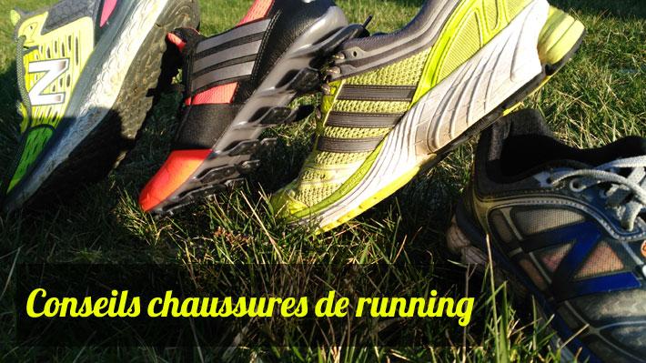 Conseils chaussures running
