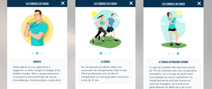 Conseils coach Frequence Running