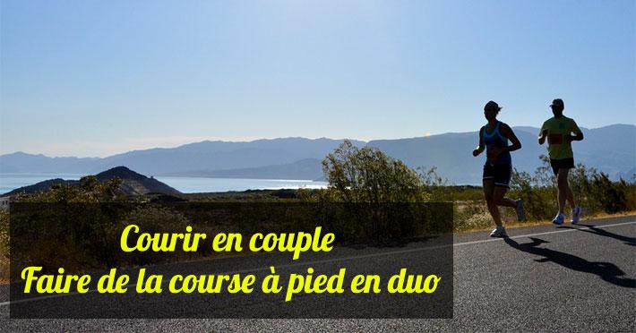 Courir en couple faire de la course à pied en duo