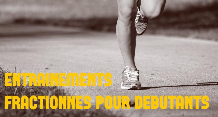 entrainement fractionné pour les débutants en course à pied