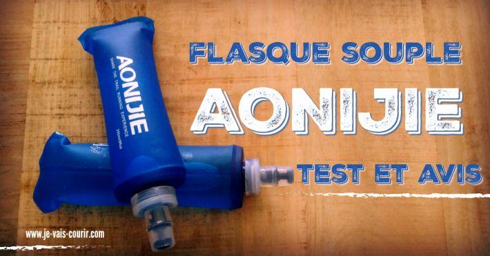 Aonijie Soft Flask avis test de la gourde flasque de marque Chinoise