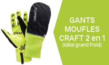 Gant Moufles Craft 2 en 1