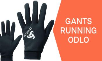 Gants Odlo pour courir
