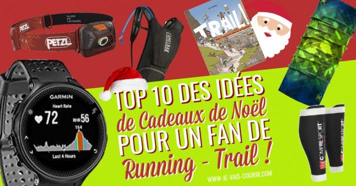 10 idées cadeaux de Noël à offrir à un coureur fan de running trail