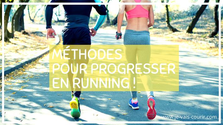 Méthodes pour progresser en running