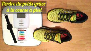 Tableau et calcul des calories brulées pendant la course à