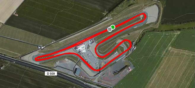 Parcours 10km du Pas de Calais 2017 circuit de Croix en Ternois