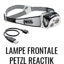 Petzl Reactik Lampe Frontale