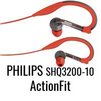 Philips SHQ3200-10 ActionFit casque tour d oreille Sport résistant à la transpiration et lavable