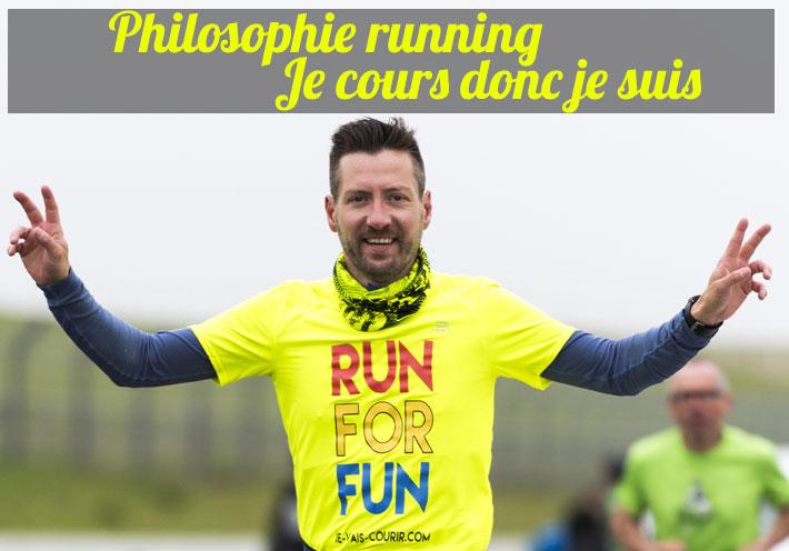 Philosophie running - Je cours donc je suis