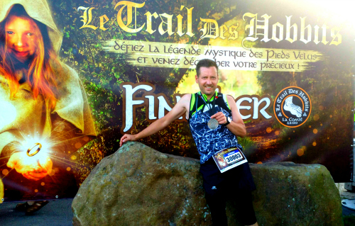 Finisher trail des hobbits 2018 La Comte