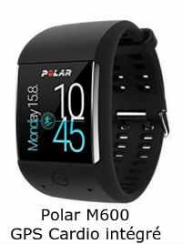 Polar M600 Montre de sport Android GPS et cardio intégré