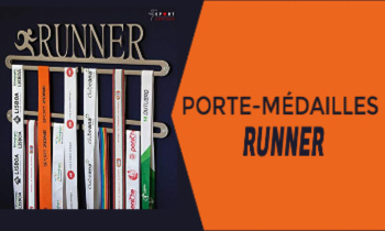 Porte Médaille Running