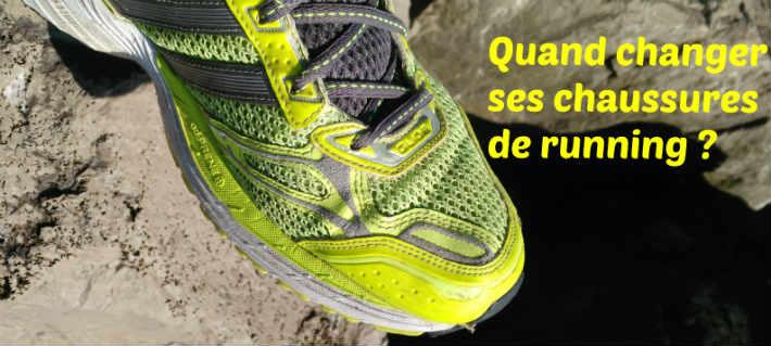 Savoir quand il faut changer ses chaussures de course à pied nombre km