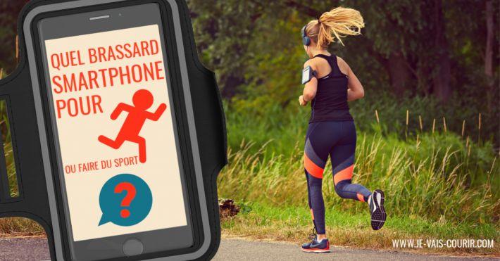 brassard smartphone running