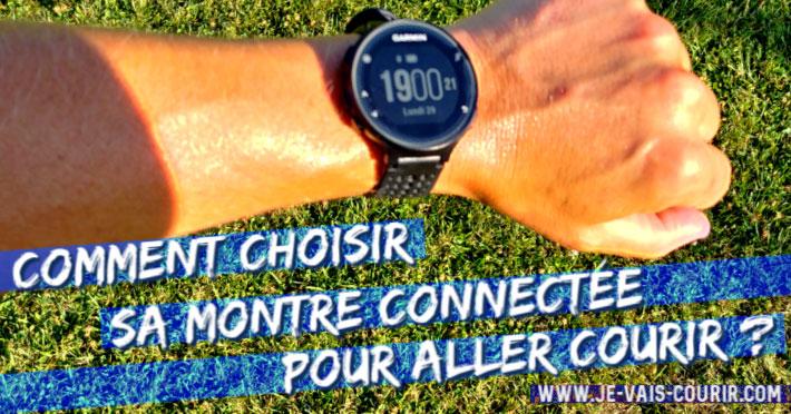 Comment choisir sa montre connectée pour aller courir?
