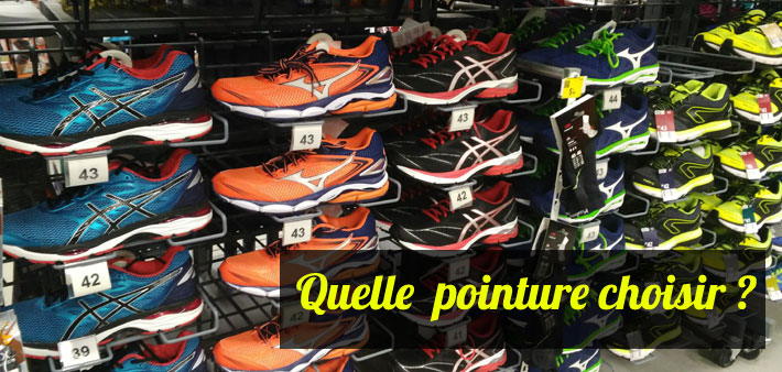 Running - Quelle pointure choisir ?