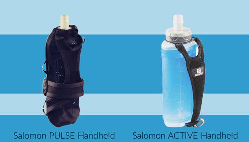 Porte flasque et gourde à main de Salomon