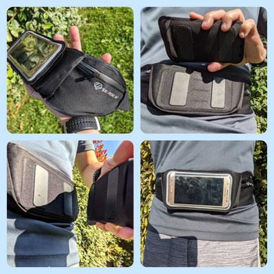 Ceinture porte pochette telephone magnetique et accessoires ShapeHeart