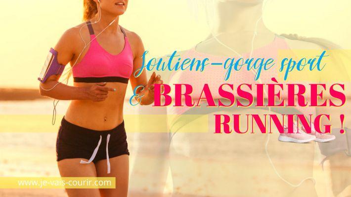 Quelle brassière de sport ou soutien-gorge pour aller courir?