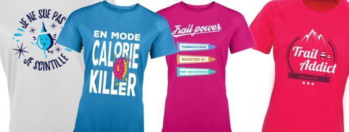 Idées t-shirt course à pied humour pour femme