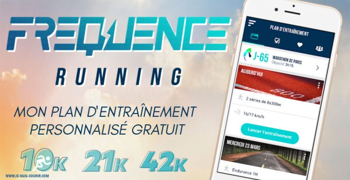 Fréquence Running - Application plan entraînement personnalisé gratuit