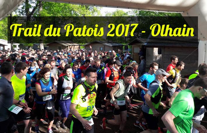 Trail du Patois 2017 à Olhain - Mon récit de course et résultat