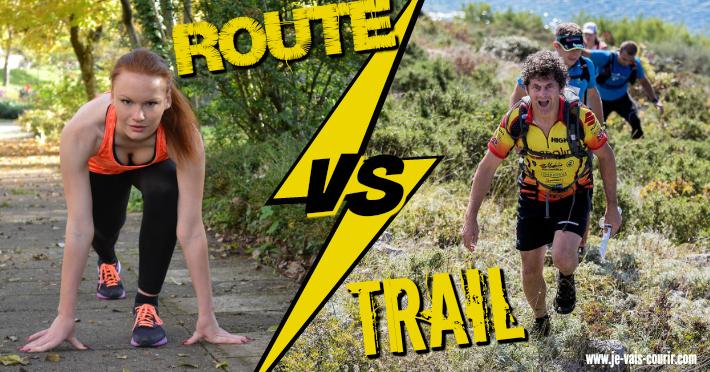 Les différences entre trail et course sur route, running