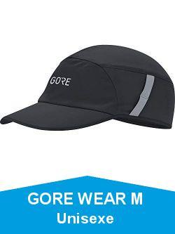 GORE WEAR M Unisexe casquette, Taille: Unique, Couleur: Noir