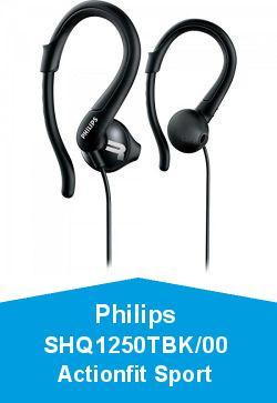 Philips SHQ1250TBK/00 Actionfit Sport Casque Noir