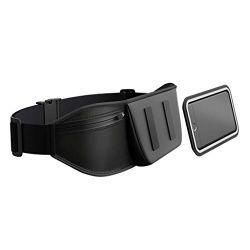Shapeheart Ceinture de Sport Magnétique avec Pochette détachable Universelle - Accédez à Votre téléphone d'un Simple Geste (Iphone, Samsung, Huawei, etc.) (XL)