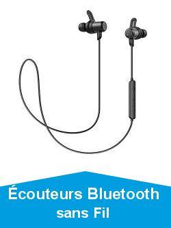 Écouteurs Bluetooth sans Fil Sport, SoundPEATS Value Oreillettes Bluetooth Intra-Auriculaire Antibruit Étanche IPX6, Longue Autonomie, Conception Magnétique